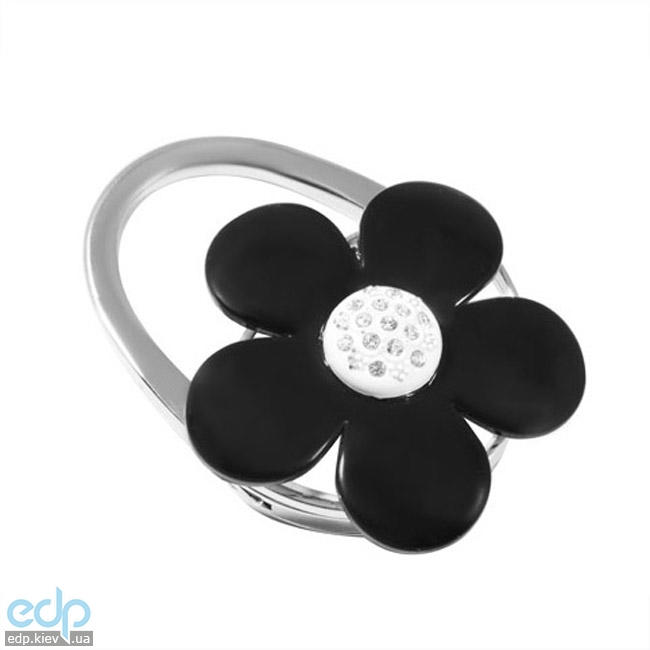 Jinli - Сумкодержатель Черный цветок цветок (арт. 119)