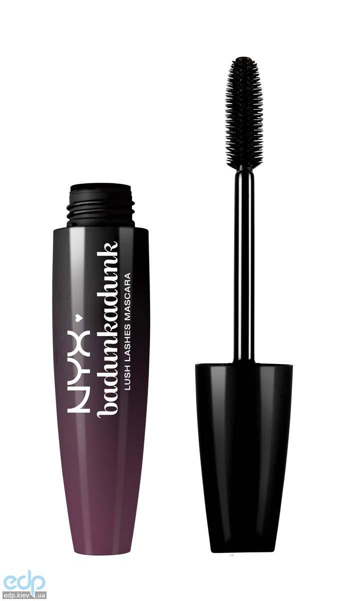 NYX - Тушь для ресниц Lush Lashes Mascara Badunkadunk Черный LL02 - 15 ml