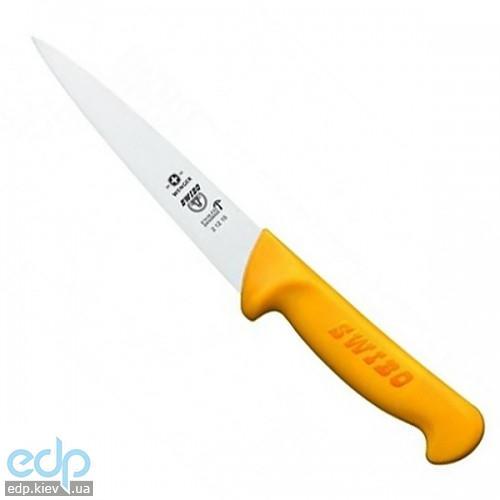 Wenger - Нож кухонный Swibo для снятия мяса с кости и закалывания 18 см желтый (арт. 2.12.18)