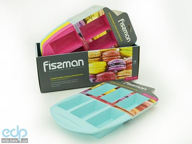 Fissman - Форма для выпечки 6 батончиков 30x20x3,4 см (арт. PR-6701.BW)