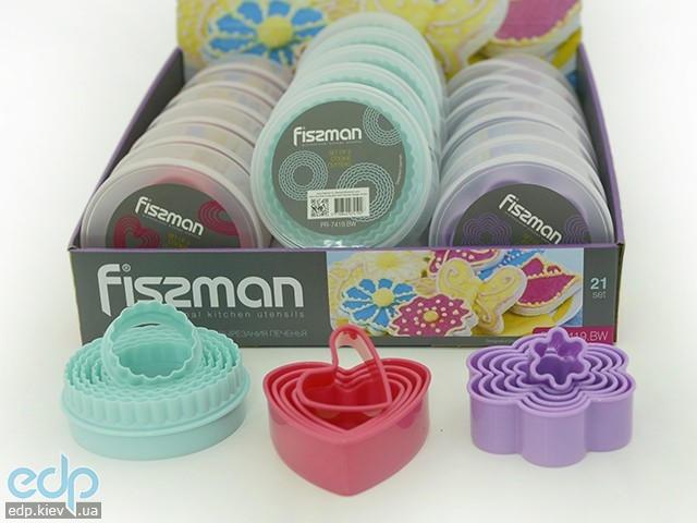 Fissman - Набор из 5 форм для вырезания печенья (арт. PR-7419.BW)