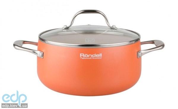 Rondell - Кастрюля с крышкой Terracota объем 3.2 л диаметр 20 см (арт. RDA-529)