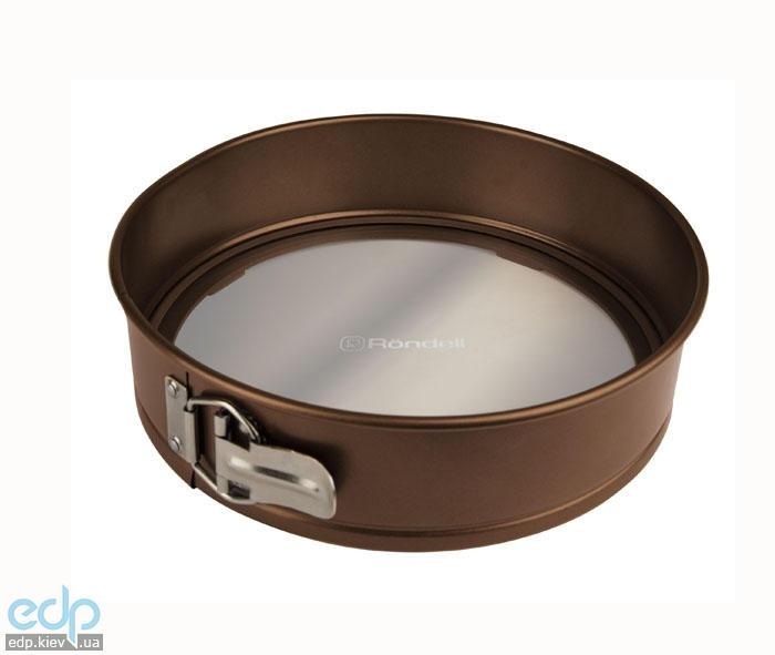 Rondell - Форма со съемным стеклянным дном Mocco&Latte (арт. RDF-442)