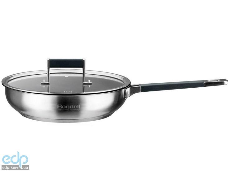 Rondell - Сковорода с крышкой диаметр 26 см антипригарное покрытие Verse (арт. RDS-050)