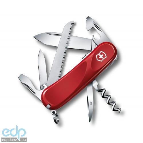 Складной нож Victorinox - Delemont Evolution S13 - 85 мм, 14 функций красный (2.3813.SE)