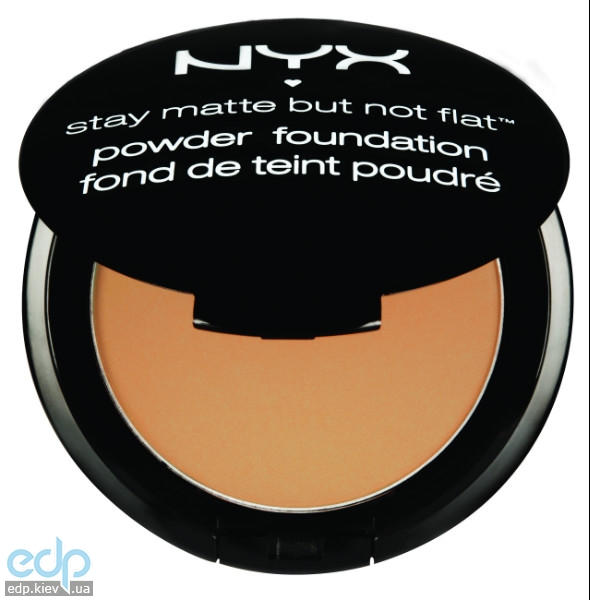 NYX - Матирующая пудра Stay Matte But Not Flat Warm Beige SMP07 - 7.5 g