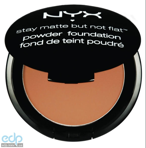NYX - Матирующая пудра Stay Matte But Not Flat Tan SMP09 - 7.5 g