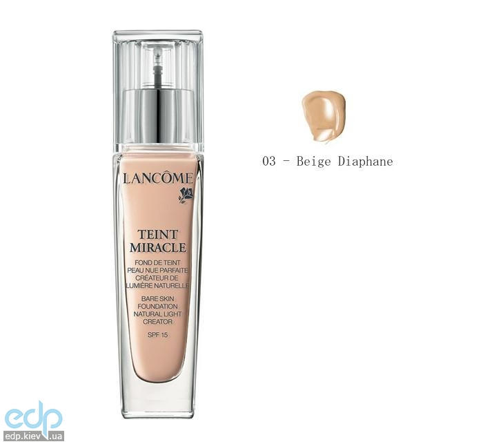 Lancome - Крем тональный Teint Miracle SPF 15 №03 Beige Diaphane - 30 ml