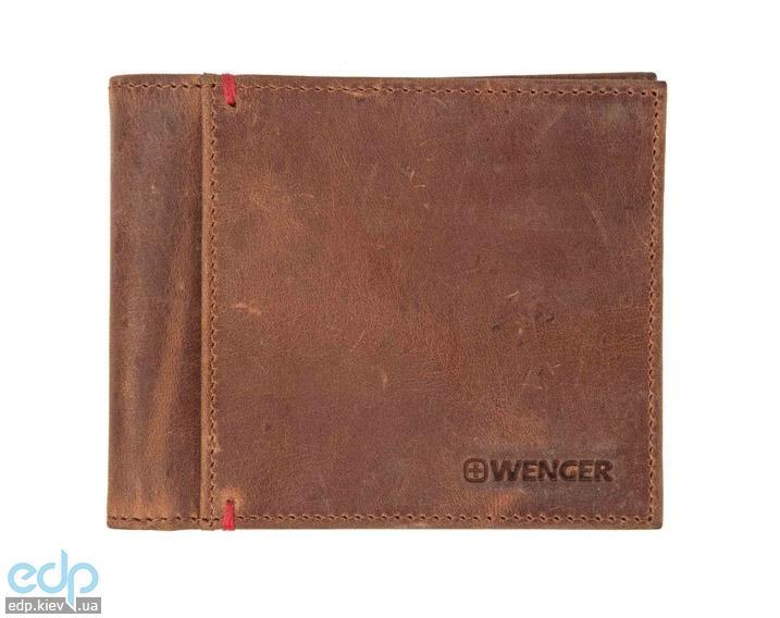 Портмоне без монетницы Wenger (коричневое) - 11х9 см (WEW012.70)