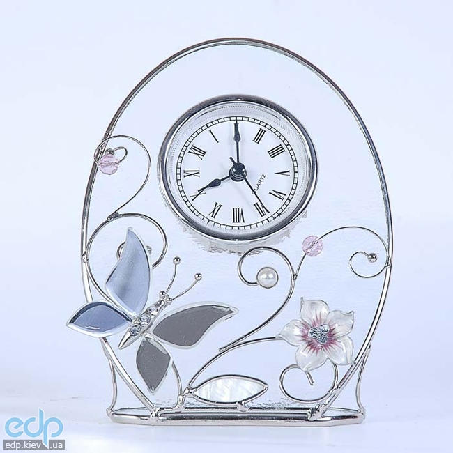 Charme De Femme - Часы Колокольчики и зеркальная бабочка (арт. 320-CK)
