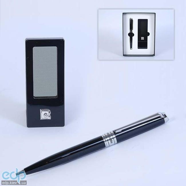 Pierre Cardin - Набор настольный Часы портативные и ручка черная (арт. PR2607/N)