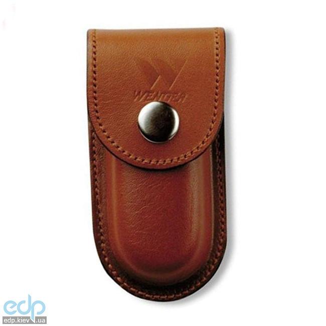 Wenger - Кожаный чехол на кнопке для классических ножей Brown (арт. H7 Brown)