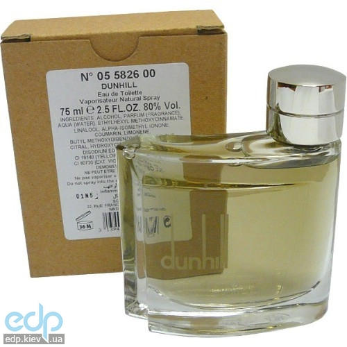 Alfred Dunhill Pour Homme - туалетная вода - 75 ml TESTER