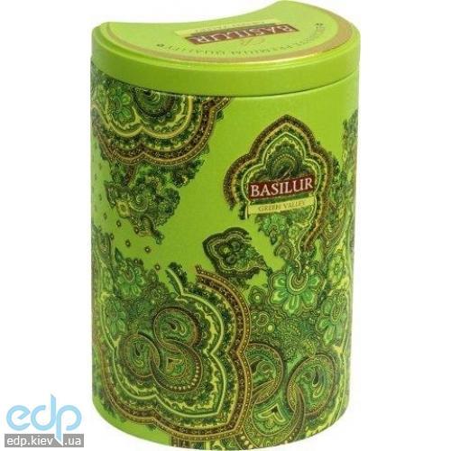 Basilur - Чай зеленый Восточная коллекция Зеленая долина - жестяная банка - 100g (4792252924635)