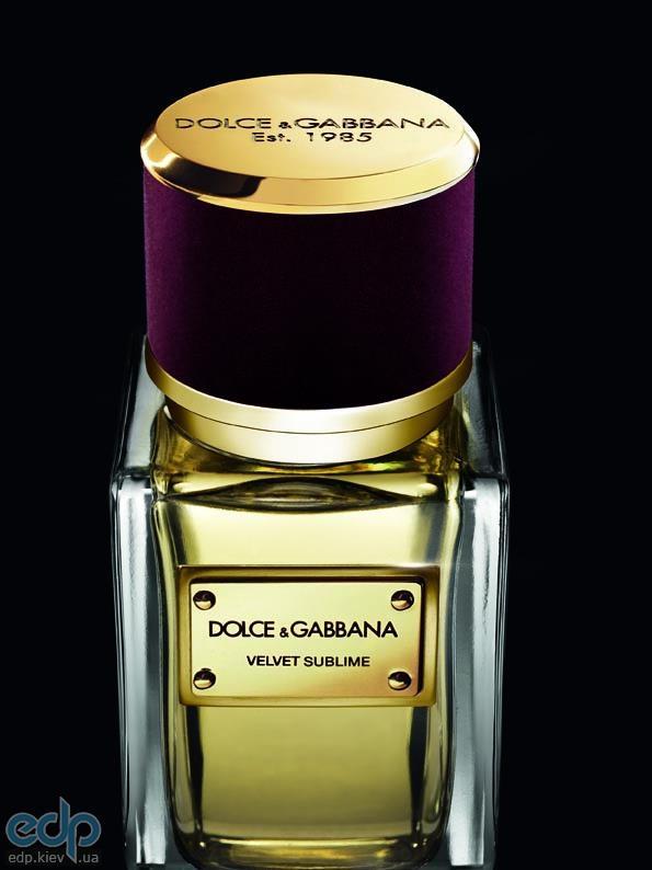 Dolce Gabbana Velvet Sublime