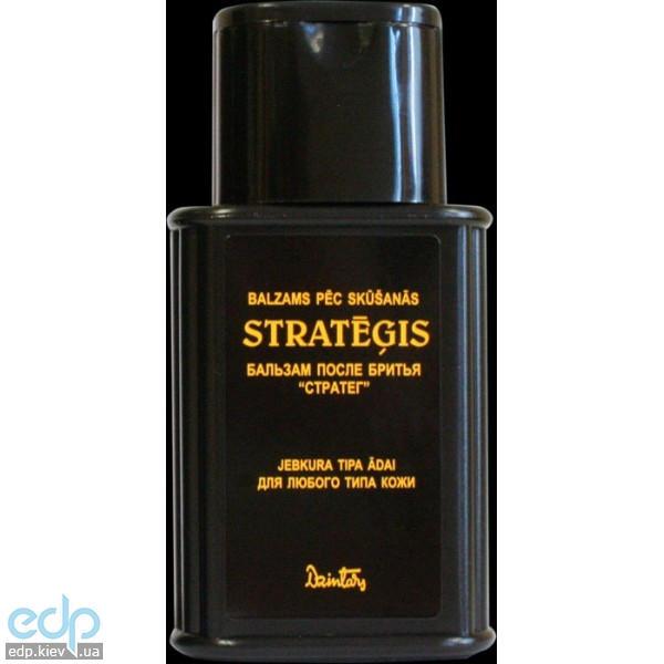 Dzintars (Дзинтарс) - Бальзам после бритья Стратег (для любого типа кожи) - 125 ml (22540dz)
