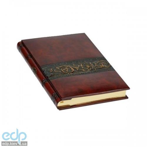Florentia - Адресная книжка кожаная Бронзе - 15x22 см