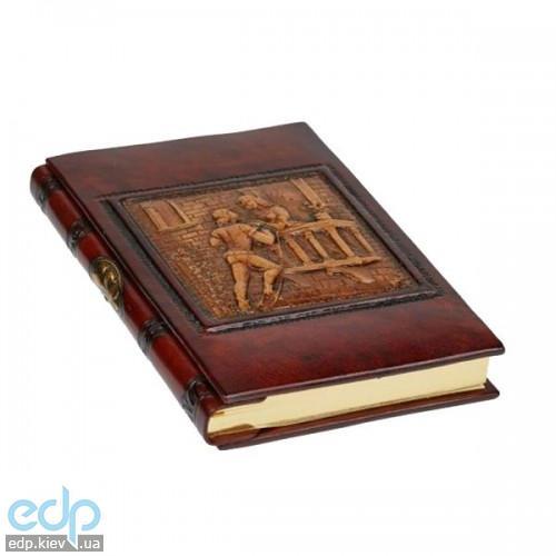 Florentia - Адресная книжка кожаная Ромео и Джульетта - 15x22 см