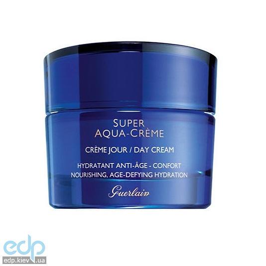 Крем для лица дневной увлажняющий с экстрактом масла ши Guerlain - Super Aqua Day Creme Confort Jour - 50ml