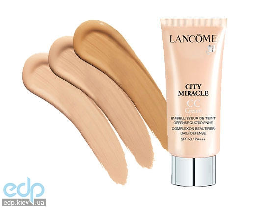 Крем-уход тональный для лица Lancome - City Miracle CC Cream №01 - 30 ml