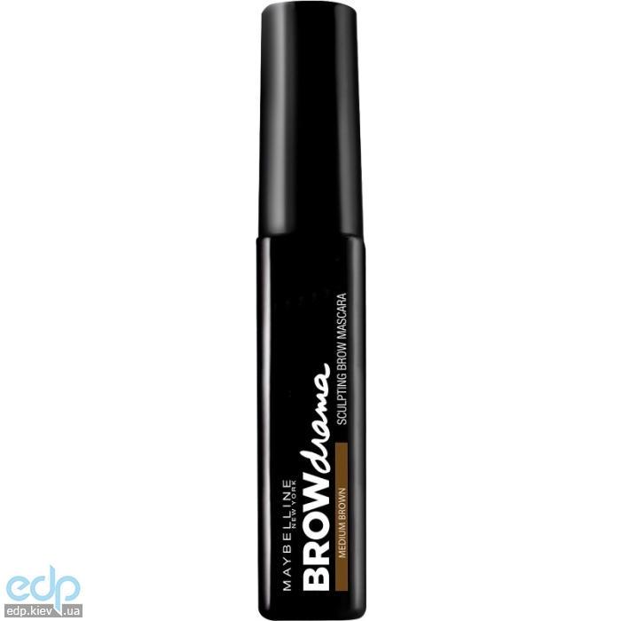 Моделирующая тушь для бровей - Maybelline Brow Drama Sculpting Brow Mascara №02 Коричневый - 7.6 ml