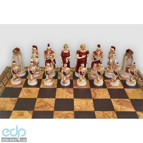 Nigri Scacchi - Шахматные фигуры Battaglia di Troia (medium size) - Троянская битва - Фигуры 8-10 см (SP64)