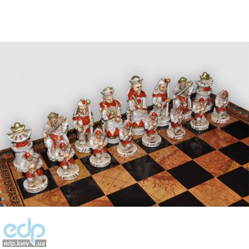 Nigri Scacchi - Шахматные фигуры Impero ming battaglia cinese (small size) - Империя Мин - Фигуры 6-8 см (SP28)
