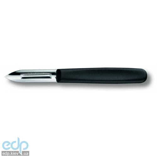 Нож кухонный Victorinox - Нож для чистки овощей с черной ручкой 1 лезвие (5.0103 )