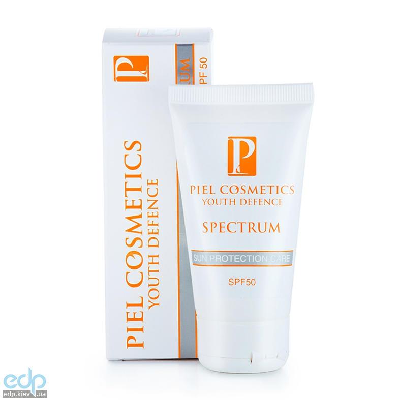 Piel Cosmetics -  Солнцезащитный крем для лица Youth defence Spectrum Sun Protection Care SPF50 - 50ml (Арт. 0502)