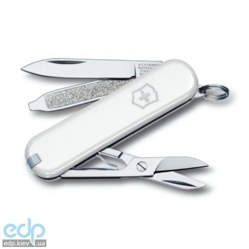 Складной нож Victorinox - Classic Sd - 58 мм, 7 функций белый (0.6223.7)