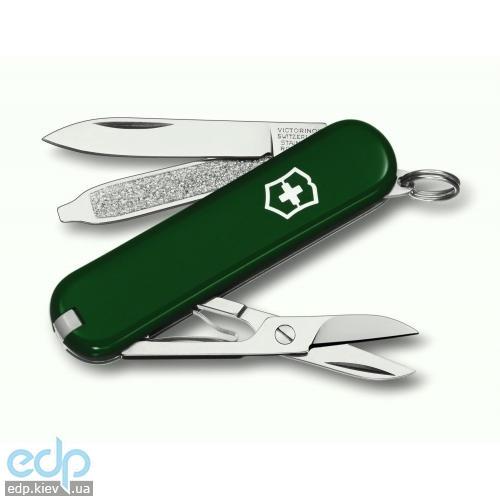 Складной нож Victorinox - Classic Sd - 58 мм, 7 функций зеленый (0.6223.4)