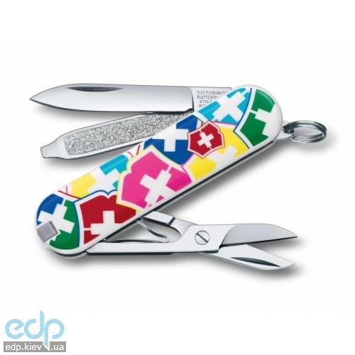 Складной нож Victorinox - Classic VX Colors - 58 мм, 7 функций цветной (0.6223.841)