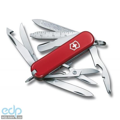 Складной нож Victorinox - Minichamp - 58 мм, 16 функций красный (0.6385)