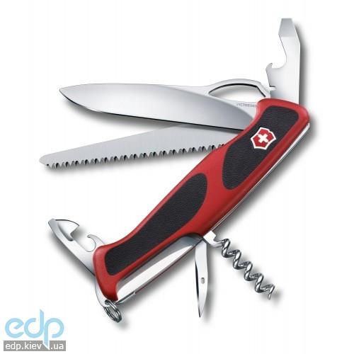 Складной нож Victorinox - RangerGrip 79 - 130 мм, 12 функций красно-черный (0.9563.MC)