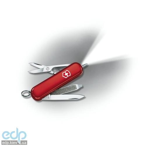 Складной нож Victorinox - Signature Lite - 58 мм, 7 функций красный прозрачный (0.6226)