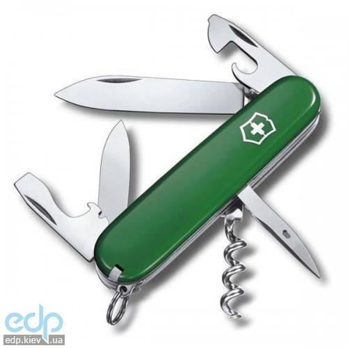 Складной нож Victorinox - Spartan - 91 мм, 12 функций зеленый (1.3603.4)