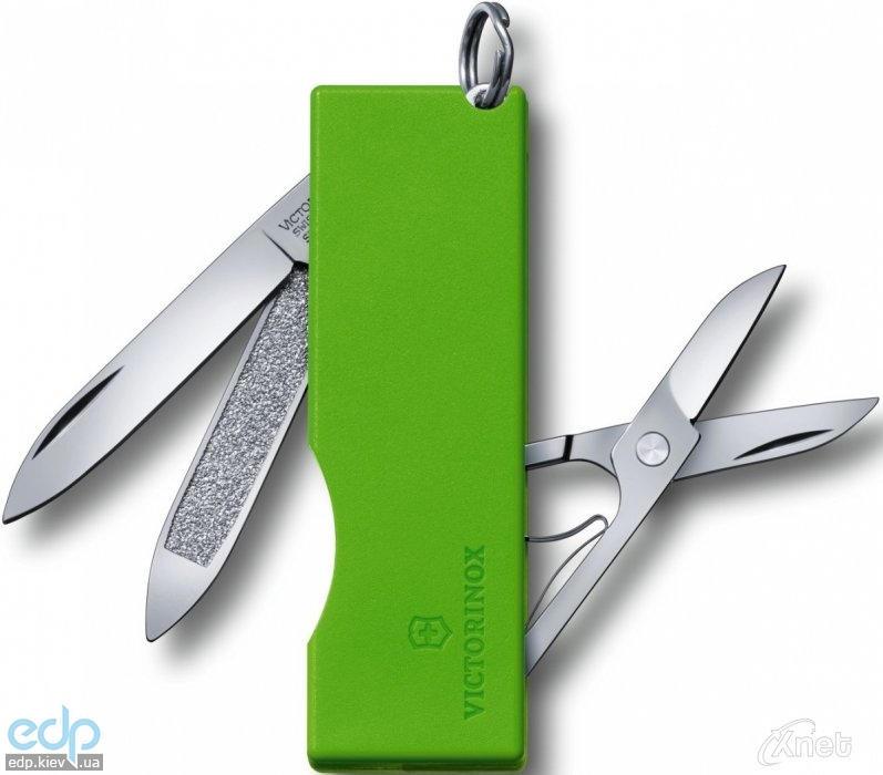 Складной нож Victorinox - Tomo - 58 мм, 5 функций зеленый (0.6201.A4)