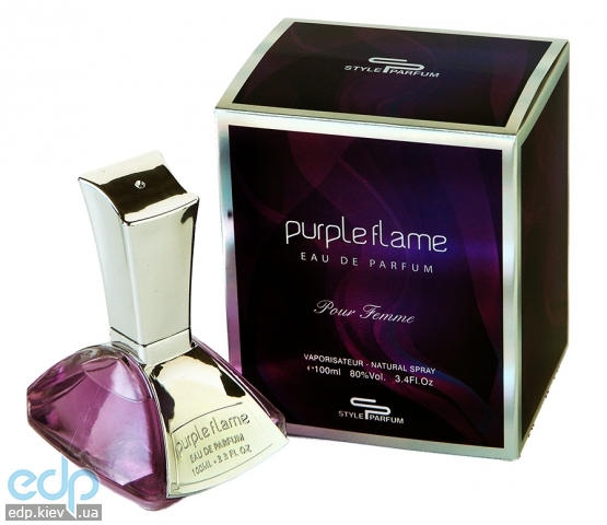 Sterling Purple Flame