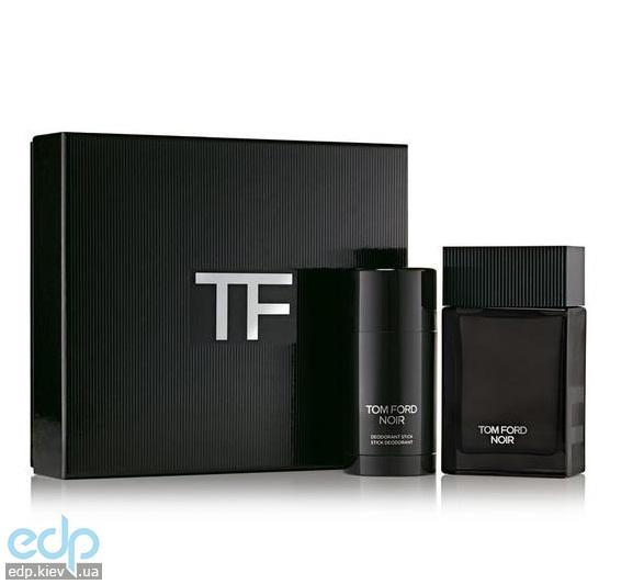 Tom Ford Noir Men Eau De Parfum - Набор (парфюмированная вода 100 + дезодорант стик 75)