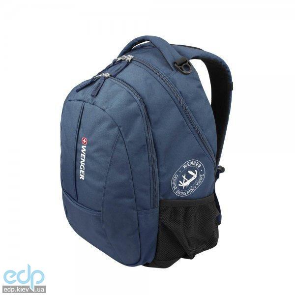 Wenger - Практичный городской рюкзак, с тремя отделениями Синий - 34х46х22см, объем: 24 л. (арт. 13123315 )