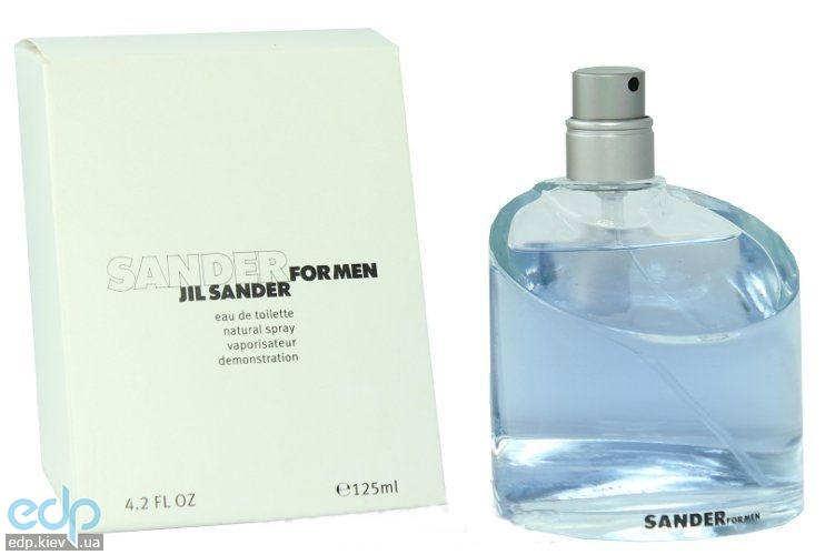 Jil Sander Sander for men - туалетная вода - 125 ml TESTER