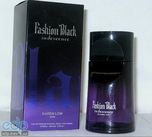Karen Low Fashion Black Indescence
