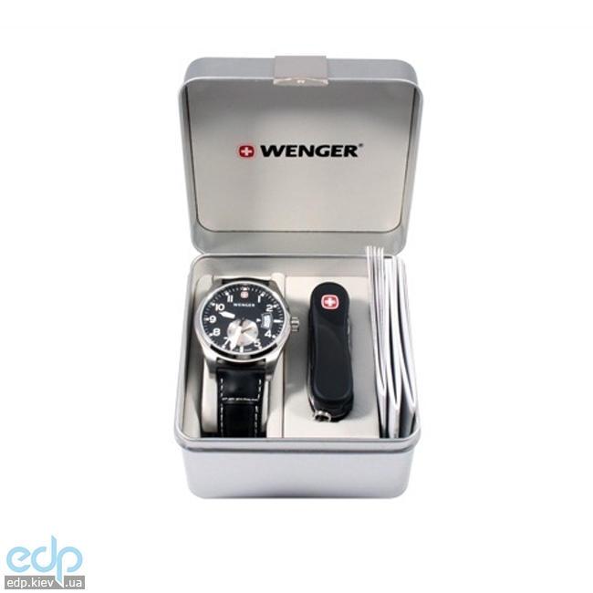 Wenger - Набор наручные часы Aerograph 72470 и нож Wenger Evolution Nail Clip 1.580.11.814 (арт. 72470)