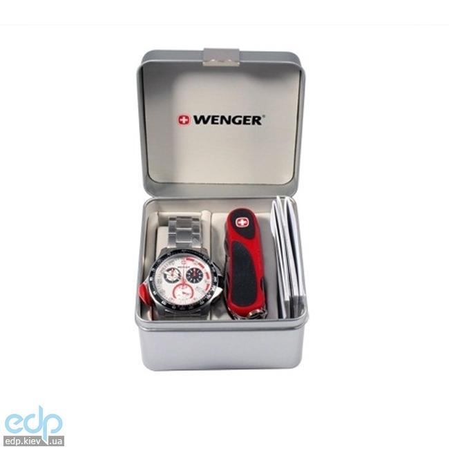 Wenger - Набор наручные часы 70797 Battalion Chrono Sport и нож Evogrip 1.18.09.821 (арт. 70797)