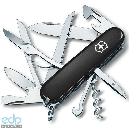 Складной нож Victorinox - Huntsman - 91 мм, 15 функций черный (1.3713.3)