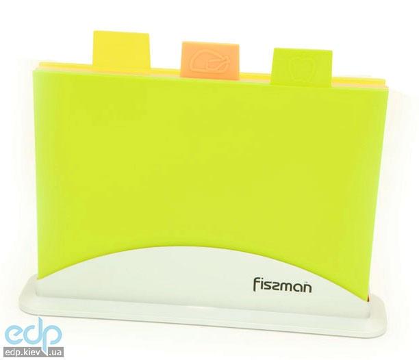 Fissman - Набор досок на подставке 3 штуки 33 х 25 см пластик (AY-7239.CB)