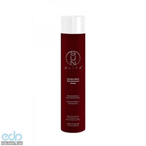 Sunglitz Strawberry Blonde Color Enhancement Shampoo - Шампунь для блондинок с клубничным оттенком - 355 ml (арт. SGS004)