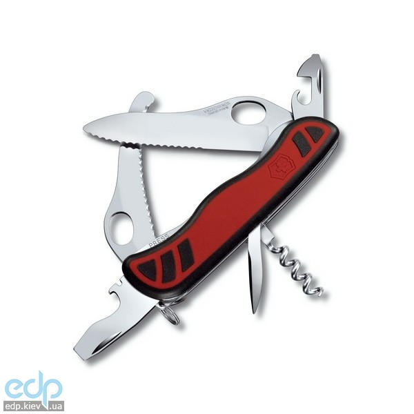 Складной нож Victorinox - Dual Pro - 111 мм, 10 функций черный/красный (0.8371.MWС)