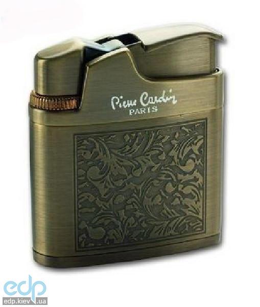 Pierre Cardin - Зажигалка газовая кремниевая корпус с выгравированным цветочным узором  (арт. MF-113В-04)