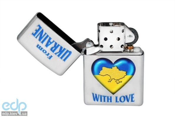 Зажигалка Zippo - From Ukraine With Love (207FU)